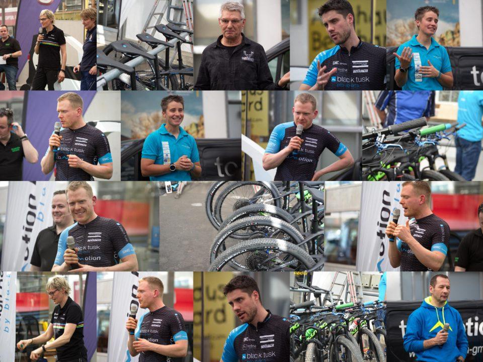 Bildercollage der toMotion Racing Teampräsentation 2017