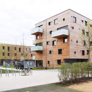 Mehrfamilienhaus in Massivholzbauweise