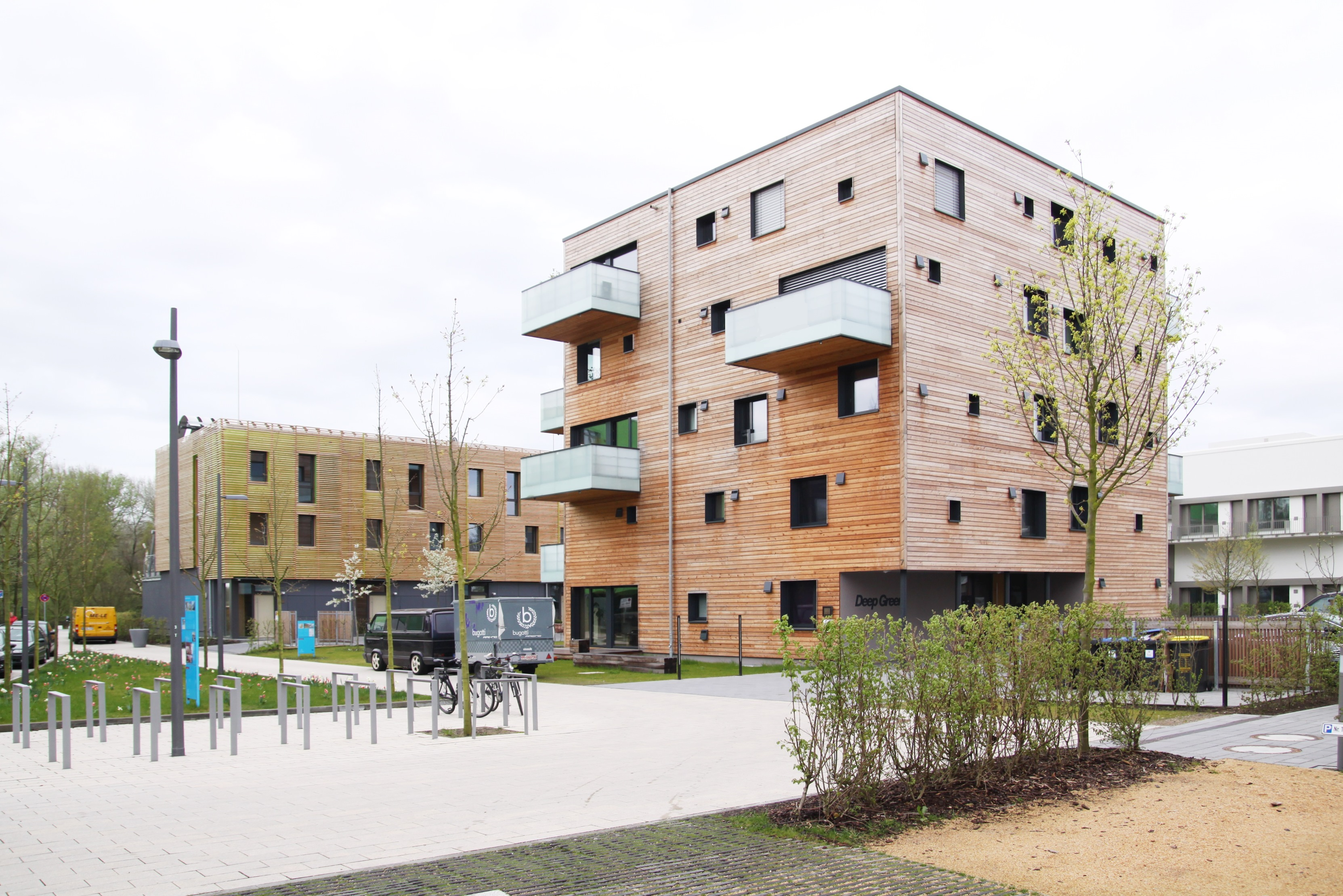 Ökologisch Wohnen im urbanen Raum-holzgemacht Holz100 - Baugruppe