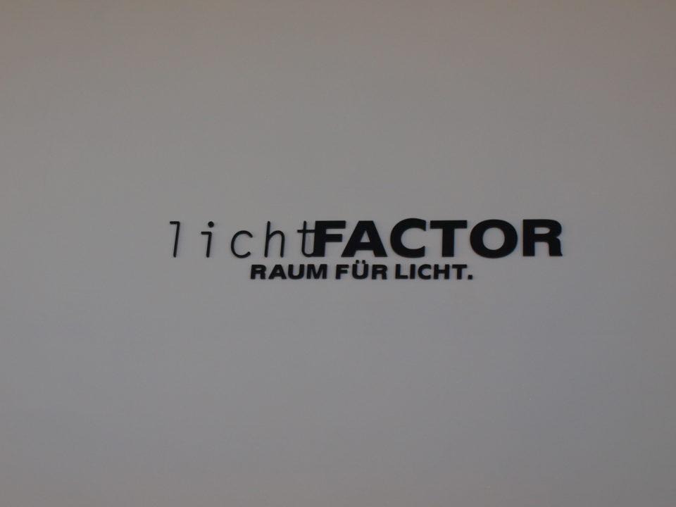 lichtfactor Firmenlogo