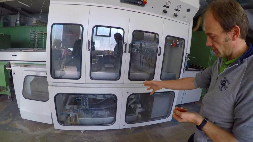 Spritzautomat für Schellack